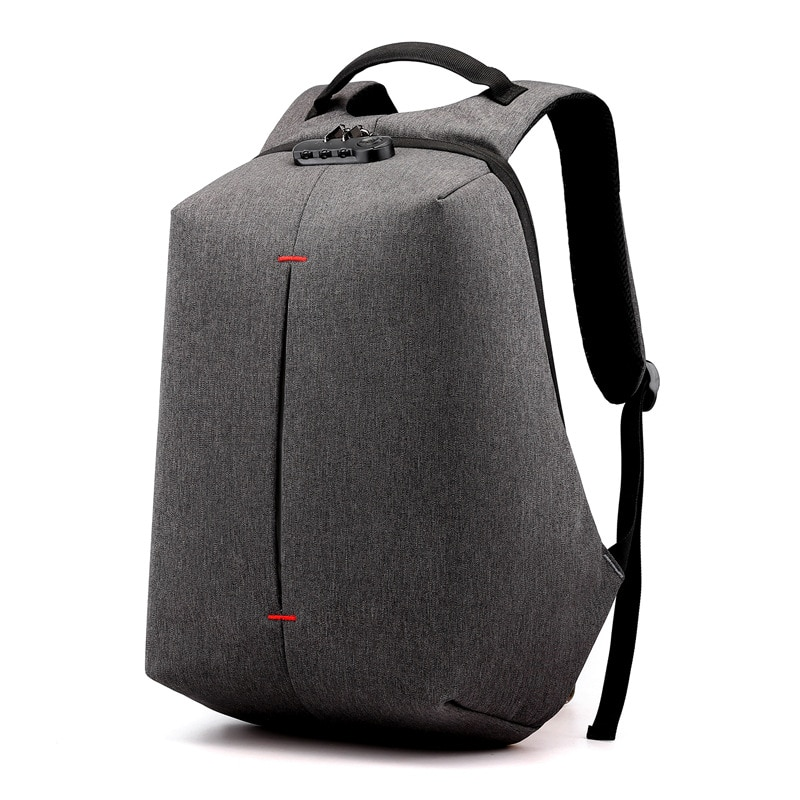 Anti-Theft Male Backpack 15.6 Inch Notebook